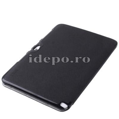 Husa Samsung Galaxy Note 2 N8000, N8010<br>  Belk Smart Cover Black