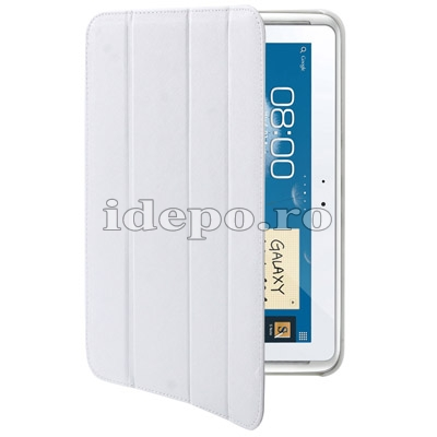 Husa Samsung Galaxy Note 2 N8000, N8010<br> Belk Smart Cover White