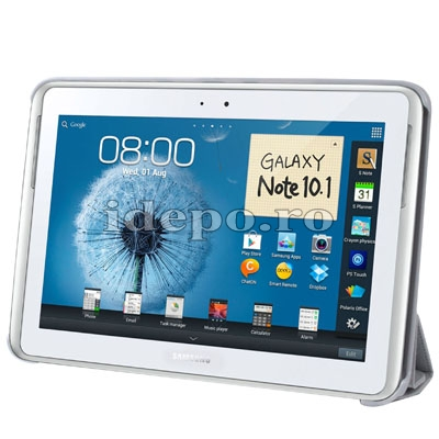 Husa Samsung Galaxy Note 2 N8000, N8010<br> Belk Smart Cover White