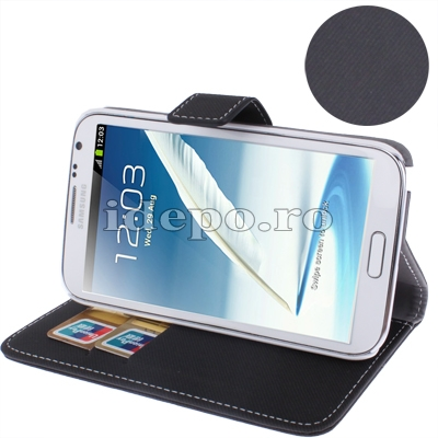 Husa Samsung Galaxy Note 2 N7100, N7110<br>  Sun Card Holder