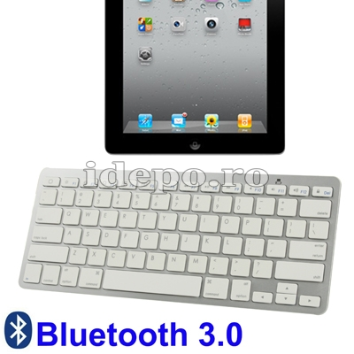 Tastatura universala Bluetooth cu chip Broadcom <br> iPad, Samsung, Motorola