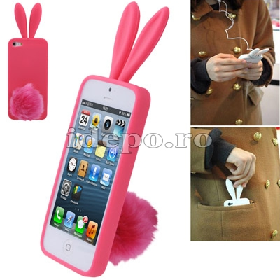 Husa iPhone 5, 5S <br> Rabbito Magneta <br> Accesorii iPhone 5S, 5