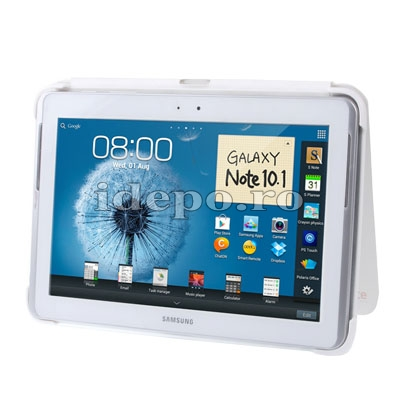 Husa Galaxy Note 10.1 <BR> N8000, N8010 <br> Sun Ultra Slim - White