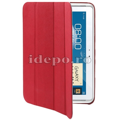 Husa Samsung Galaxy Note 2 N8000, N8010 <br> Belk Smart Cover Red