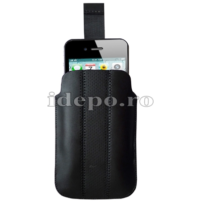 Husa iPhone 4, 4S <br>Sun Vogue Black<br> Accesorii iPhone