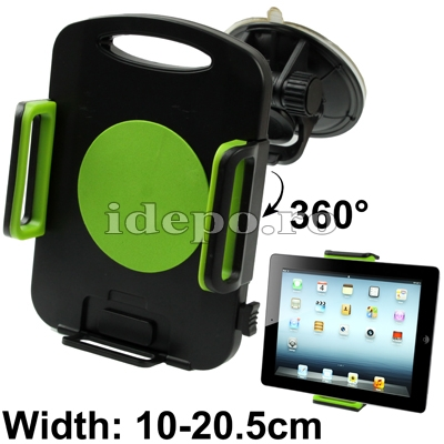 Suport auto iPad Air, iPad 4 Retina, iPad 3, iPad 2, iPad Mini, iPad Mini Retina