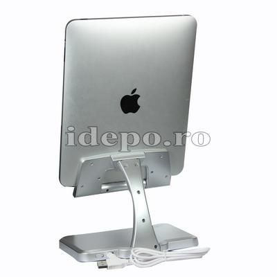 Stand rotativ cu incarcator iPad  <br> Accesorii iPad