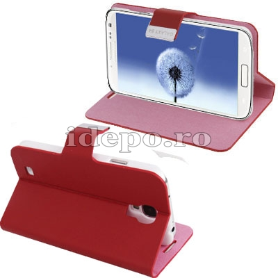 Husa Samsung Galaxy S4 i9500 <br> Sun Office Red<br> Accesorii Samsung Galaxy S4