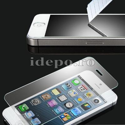 Folie ultra protectie ecran iPhone 5, 5S <br>Ultra Shield V7