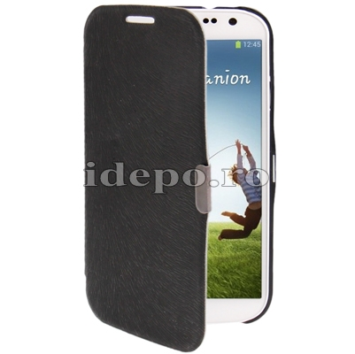 Husa Samsung Galaxy S4 i9500<br> Sun Executive Black<br> Accesorii Samsung Galaxy S4