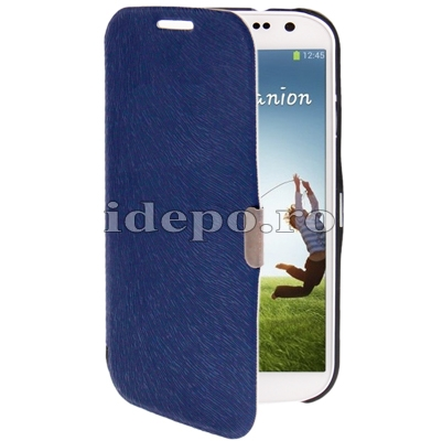 Husa Samsung Galaxy S4 i9500<br> Sun Executive Blue<br> Accesorii Samsung Galaxy S4