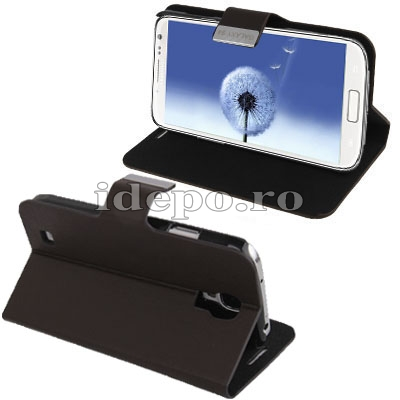 Husa Samsung Galaxy S4 i9500<br> Sun Office Dark<br> Accesorii Samsung Galaxy S4