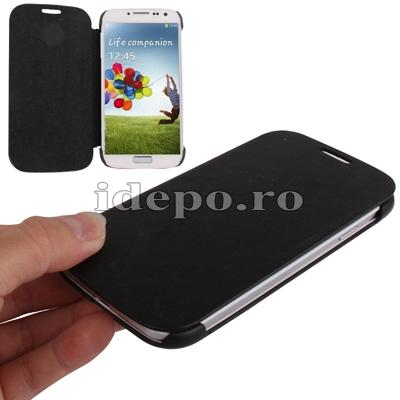 Husa Samsung Galaxy S4 i9500<br> Sun Ultra Thin Black<br> Accesorii Samsung Galaxy S4