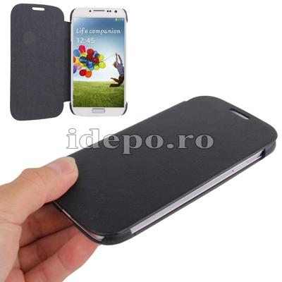 Husa Samsung Galaxy S4 i9500<br> Sun Ultra Thin Gray<br> Accesorii Samsung Galaxy S4