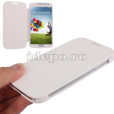 Husa Samsung Galaxy S4 i9500<br> Sun Ultra Thin White<br> Accesorii Samsung Galaxy S4