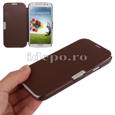 Husa Samsung Galaxy S4 i9500<br> Sun Ultra Thin Brown<br> Accesorii Samsung Galaxy S4