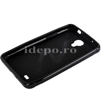 Husa Samsung Galaxy S4 i9500<br> TPU Silicon Black<br> Accesorii Samsung Galaxy S4