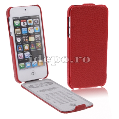Husa iPhone 5S, 5 <br>  Sun Royal S Red <br> Accesorii iPhone 5S, 5