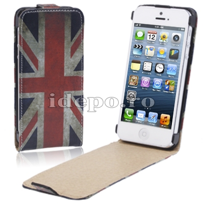 Husa iPhone 5, 5S<br>  Sun UK Slim <br> Accesorii iPhone 5
