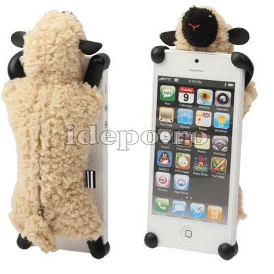 Husa Zoo Sheep pentru iPhone 5, 5S, 5SE <br> Accesorii iPhone 5