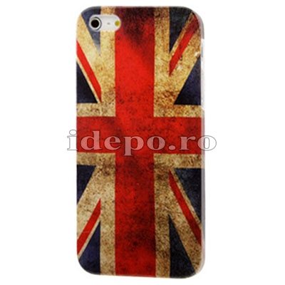 Husa iPhone 5, 5S<br> Sun UK Retro<br> Accesorii iPhone 5