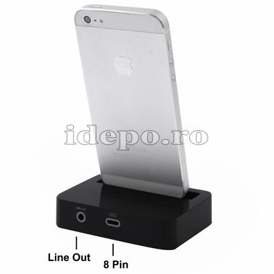 iDock iPhone 5 <br> Accesorii iPhone 5