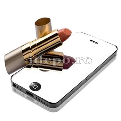 Folie protectie ecran iPhone 5S, 5<br>Sun Mirror Exclusive
