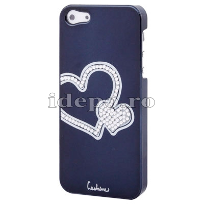 Husa iPhone 5S, 5 <br>  Diamonds Blue<br> Accesorii iPhone 5