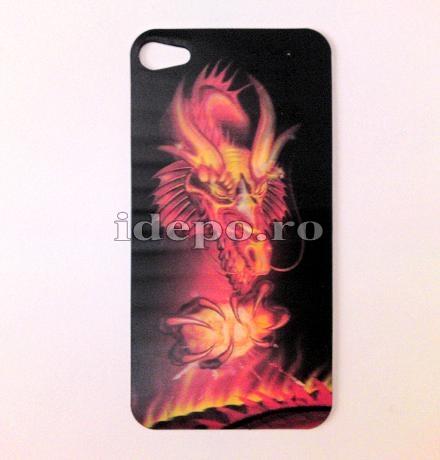Folie protectie iPhone 4, 4S<br> Fire 3D <br> Accesorii iPhone