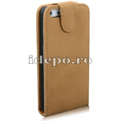Husa iPhone 5, 5S<br>  Sun Exclusive Leather<br> Accesorii iPhone 5
