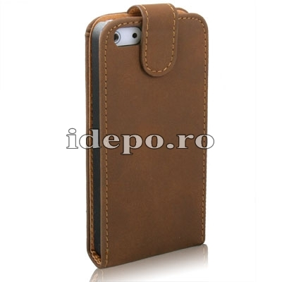 Husa iPhone 5, 5S  <br>  Sun Exclusive Leather<br> Accesorii iPhone 5
