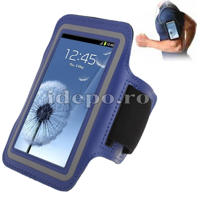 Banderola Samsung Galaxy S4 i9500 <br>  Sun Be Fit Blue