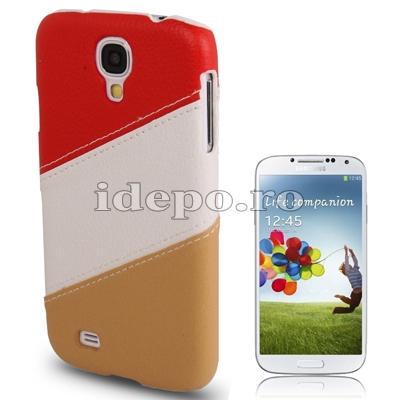 Husa Samsung Galaxy S4 i9500 <br>  Sinergy Red<br> Accesorii Samsung Galaxy S4