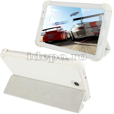 Husa Samsung Galaxy Note 8.0 N5100 <br>Sun Smart Case White