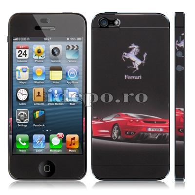 Set folii protectie <br> Ferrari <br> Accesorii iPhone 5