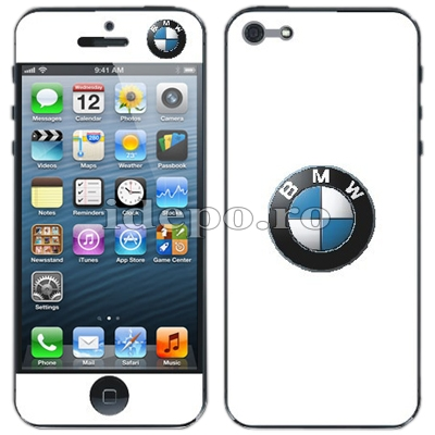 Folii protectie iPhone 5, 5S<br> BMW
