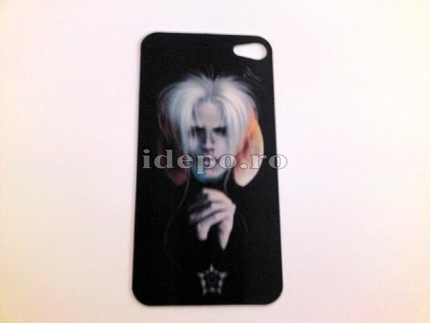 Folie protectie iPhone 4, 4S  <br> 3D Demon <br> Accesorii iPhone