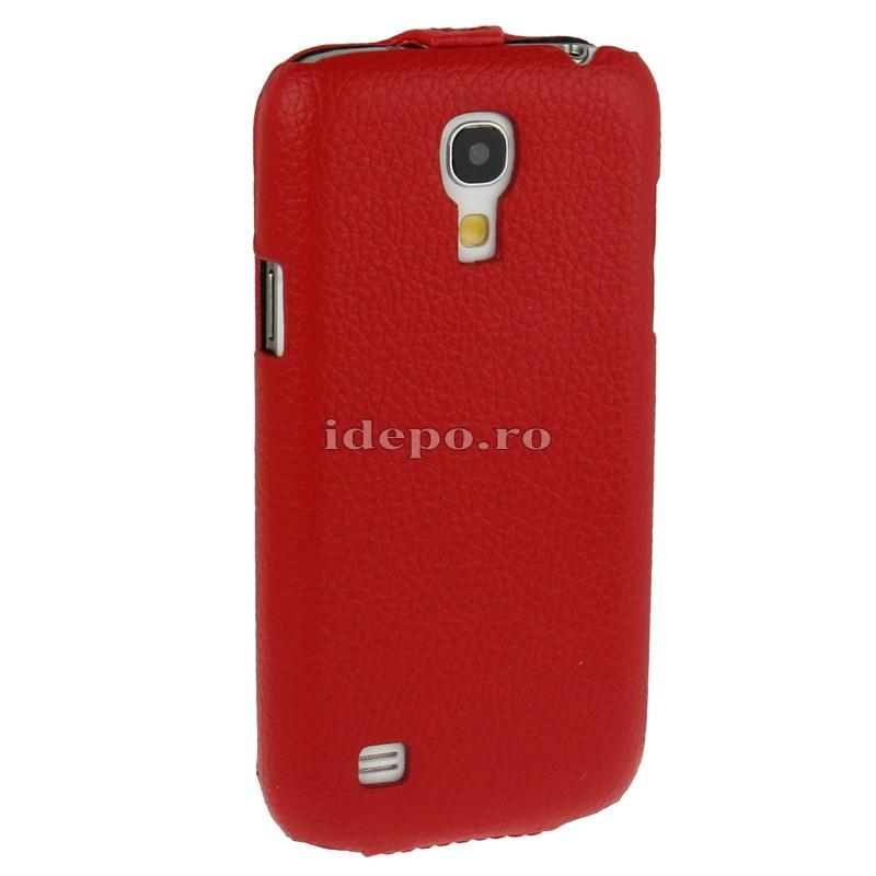 Husa  Samsung Galaxy S4 Mini i9190 <br>  Sun Executive Red