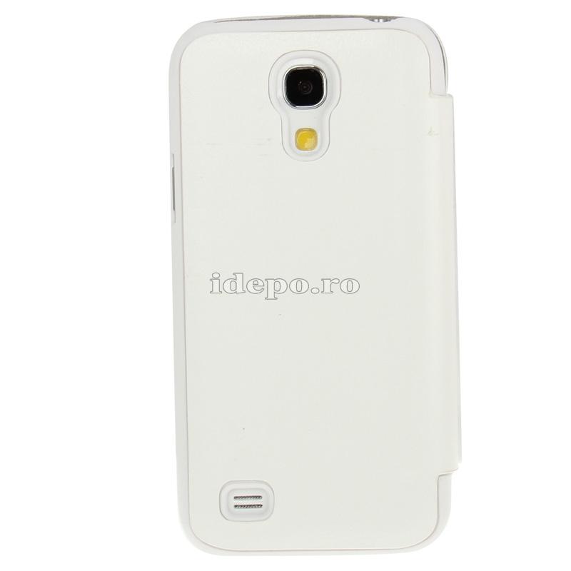 Husa Samsung Galaxy S4 Mini i9190 <br>  Sun Caller ID White