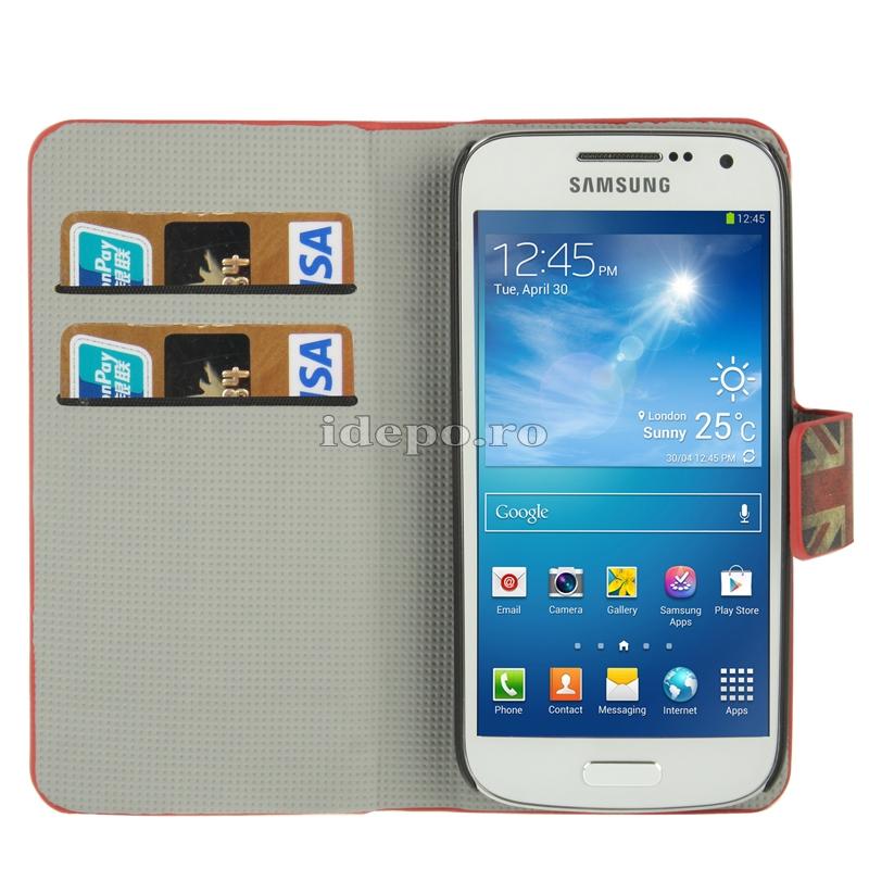 Husa  Samsung Galaxy S4 Mini i9190 <br>  Sun UK Vintage