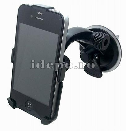 Suport auto iPhone 4, 4S Sun Secure FX  Accesorii iPhone 4S