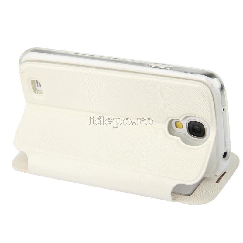 Husa Samsung Galaxy S4 i9500 <br>  Caller ID White