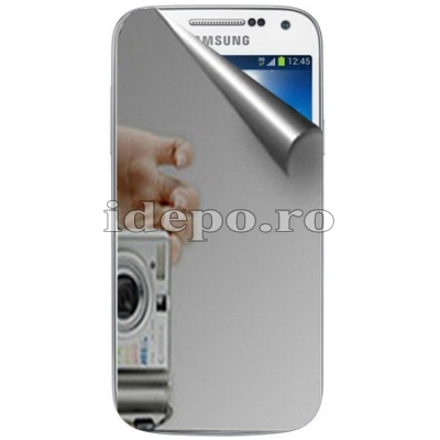Folie protectie ecran Samsung Galaxy S4 Mini i9190<br> Sun Mirror Japan