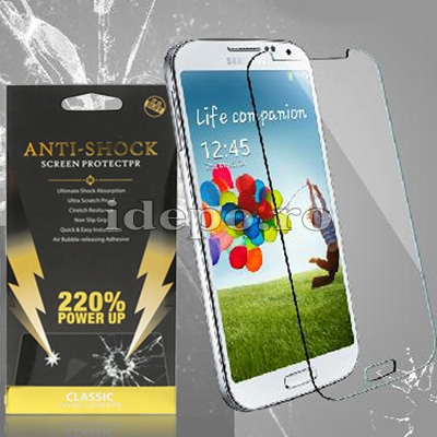 Folie protectie ecran Samsung Galaxy S4 Mini i9190<br> Sun Anti Shock 2.5D