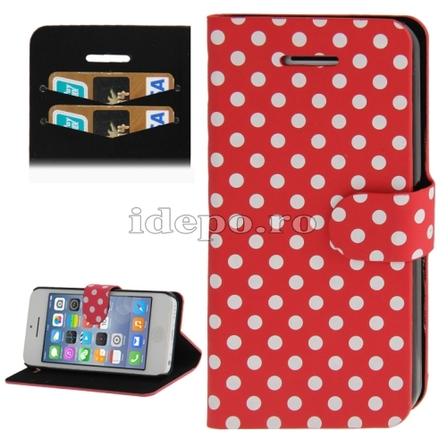 Husa  iPhone 5C <br>  Kate Spade Red<br> Accesorii iPhone 5C
