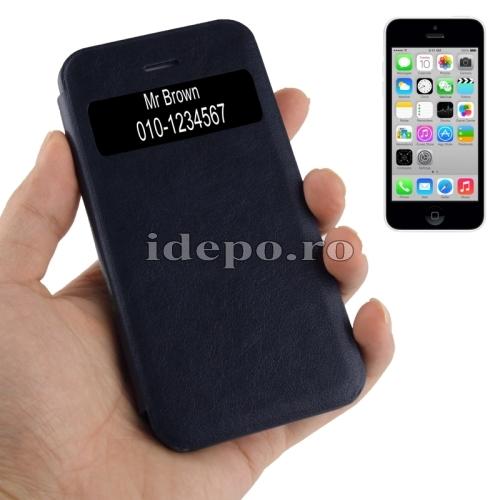 Husa  iPhone 5C <br> Call Display Black<br> Accesorii iPhone 5C
