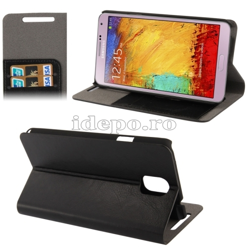 Husa Samsung Galaxy Note 3 N9000, N9005 <br>  Sun Argos Black