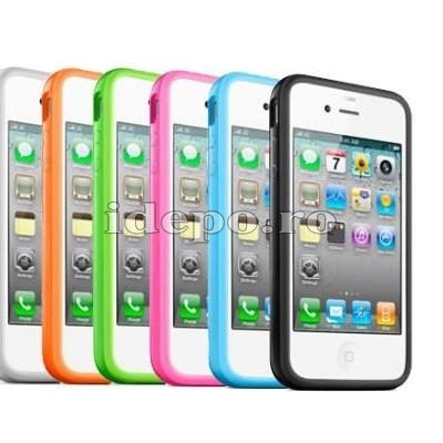 Bumper iPhone 4, 4S <br> Max Grip <br> Accesorii iPhone 4S