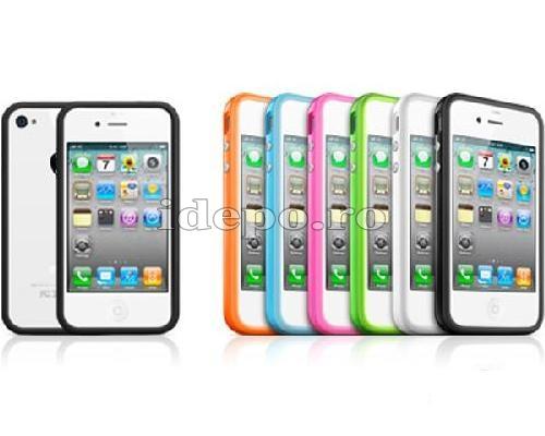 Bumper iPhone 4, 4S <br> Max Grip <br> Accesorii iPhone 4S