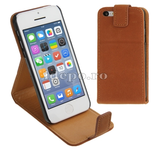 Husa  iPhone 5C <br>  Sun Valencia Brown<br> Accesorii iPhone 5C